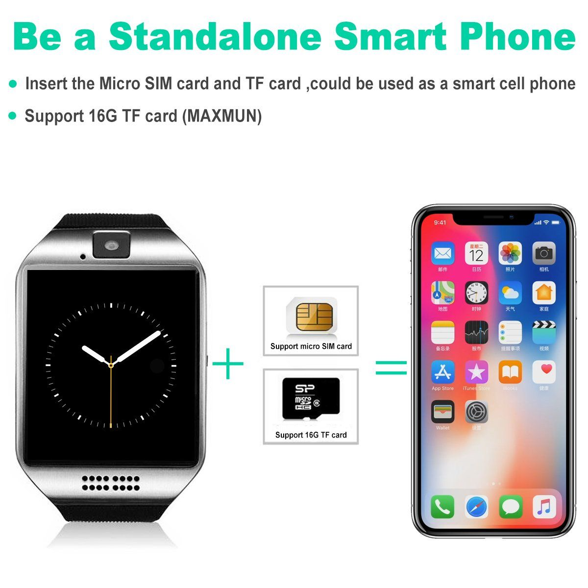 Bluetooth Smart Watch With Camera Touch Screen Smartwatch Phone Unlocked Watch Cell Phone Sim Card Smart Wr Smart Watch Android Smart Watch Touch Screen Phones