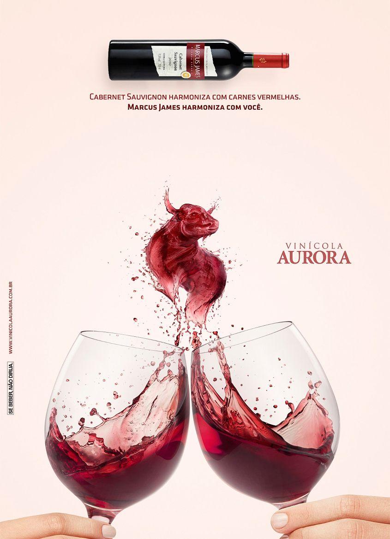 Vinicola Aurora Wine Advertisement Affiche De Vin Cadre Dessin Vin