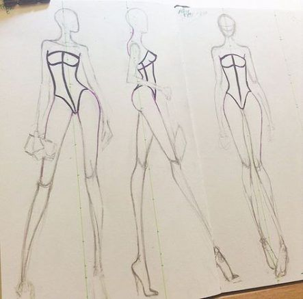 Photo of Fashion Drawing Sketches Mood Boards 44 New Ideas