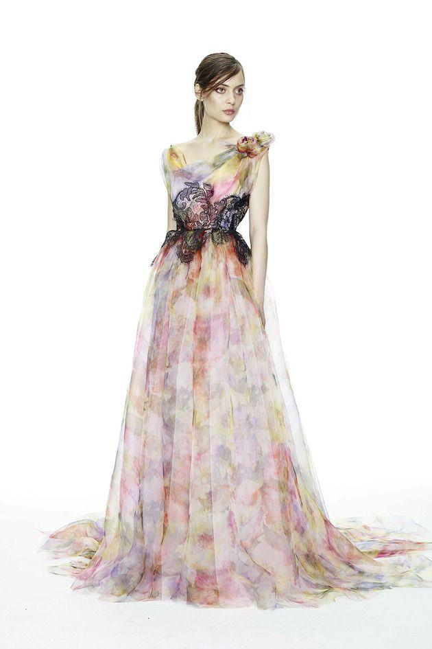 15 Head Over Heels Gorgeous Fl Wedding Dresses
