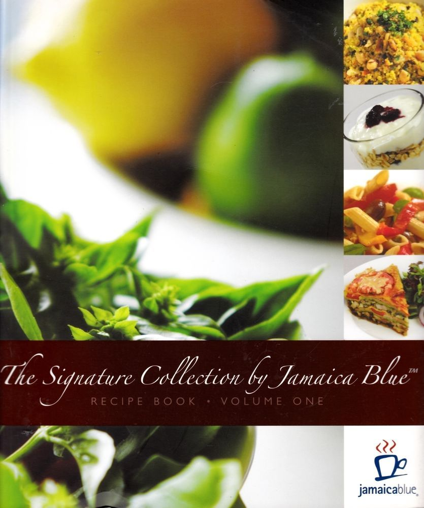 SIGNATURE COLLECTION by JAMAICA BLUE range is a gourmet lunch menu of fresh salads & pastas. This recipe book also includes some of Jamaica Blue's classic breakfast & lunch dishes.