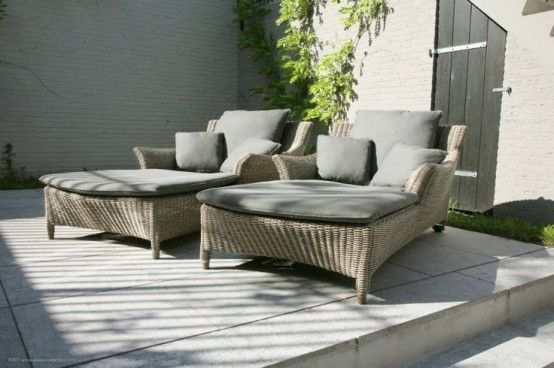 29 Cool Outdoor Lounge Chairs For Summer Napping Digsdigs Lounge Chair Outdoor Used Outdoor Furniture Elegant Outdoor Furniture