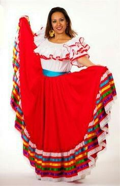 327ed2b972 Mexican dance skirt. Mexican dance skirt Folklorico Dresses ...