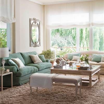 Sofas El Mueble Salon De Casa Decoracion De Interiores Salones Decoracion De Interiores