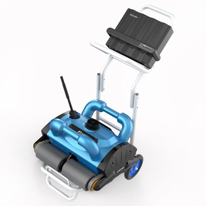 Automatic Robotic Pool Cleaner Swimming Pool Robot Cleaner Remote ...
