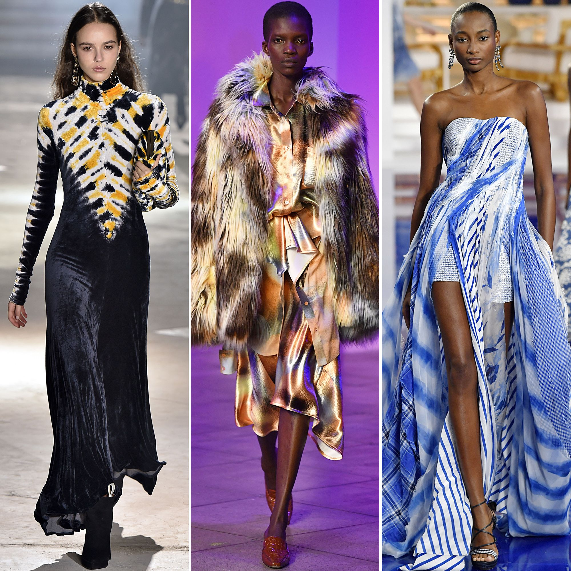 967d4d644fbc85 The Stand Out Trends From New York Fashion Week  Fall 2018 - Tie-Dye from  InStyle.com