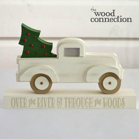 Christmas Pickup Truck Christmas crafts Pinterest Wood crafts