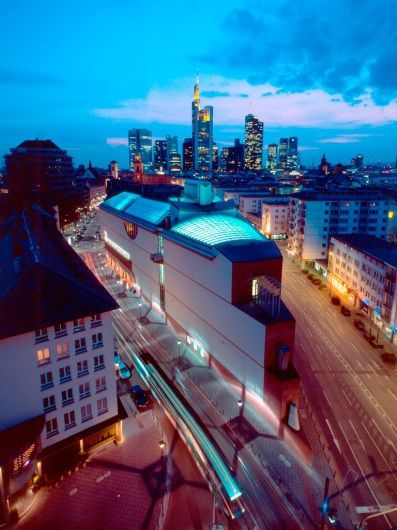 mmk museum fur moderne kunst und architektur wandbild der