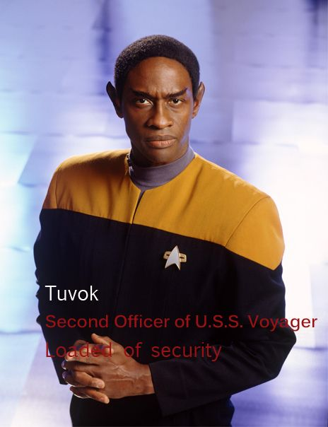 Lt. Commander Tuvok - Star Trek: Voyager
