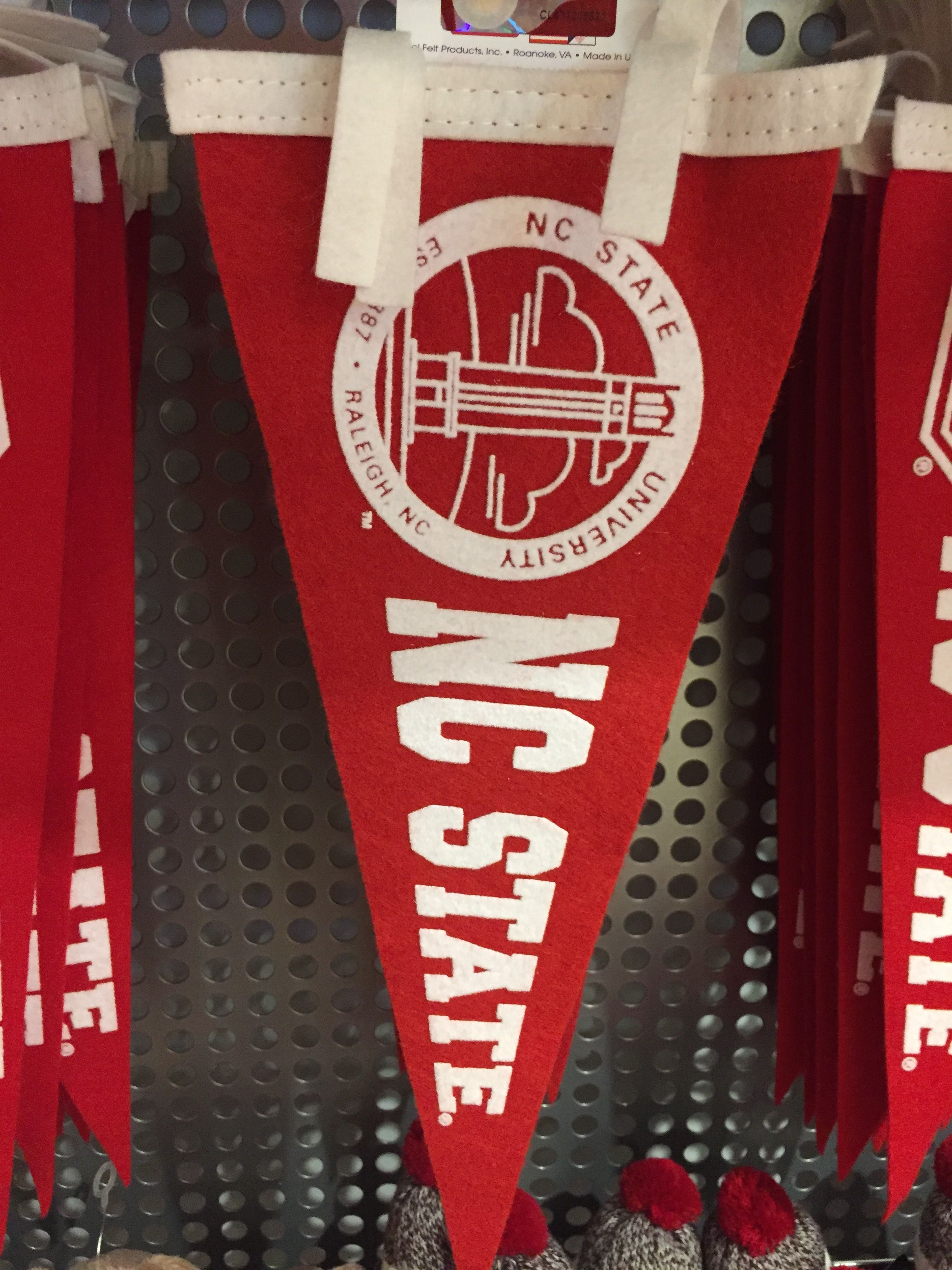 Available at wolfpack outfitters nc state banner wolf