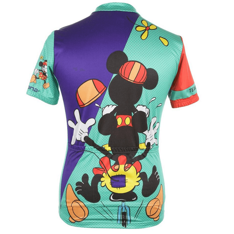 bc730d7f Team Tandem Mickey Minnie Mouse Cycling Shirt Jersey | Freestylecycling.com