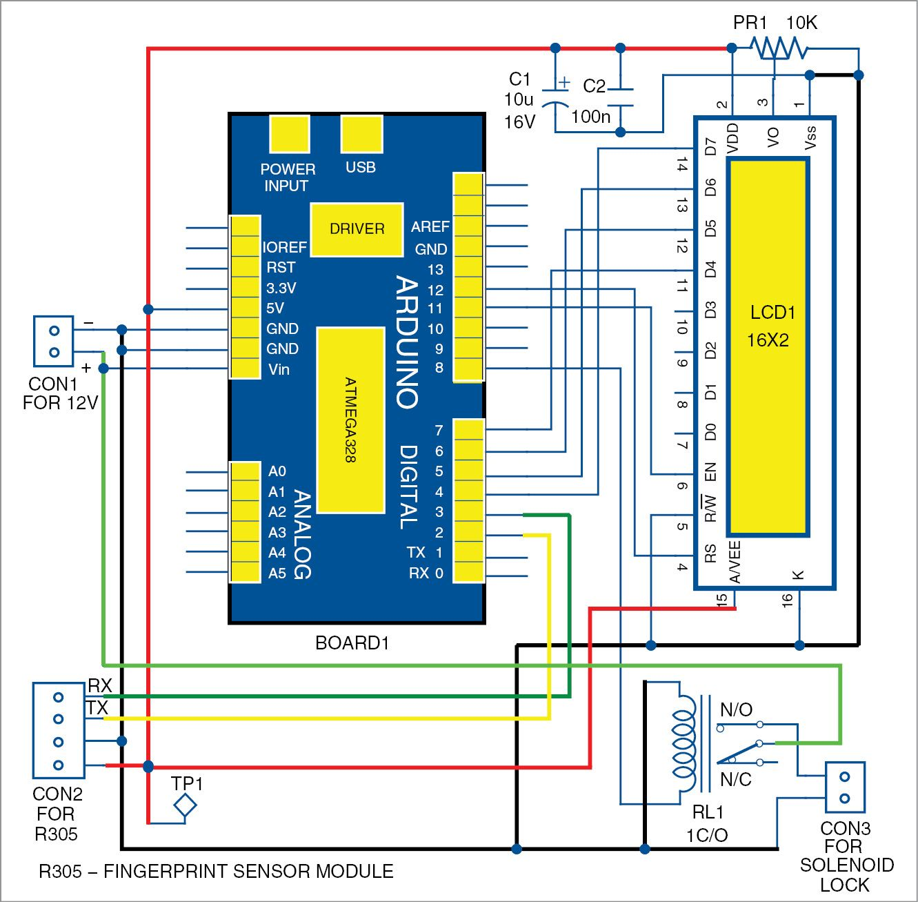 Simplisafe Ms1 Extra Motion Sensor In 2018 Circuit Diagrams Degree Electronics Forum Circuits Projects And Microcontrollers This Simple Fingerprint Project Using Arduino Can Be Very Useful For Door Security Forensics Crime Investigation Personal Identification