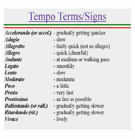 Allegro Learning Italian Pinterest Instruments Learning