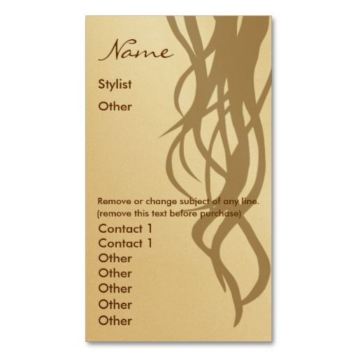 Stylist business card two sided gold business cards consumer reviews stylist business card two sided gold stylist business card two reheart Images