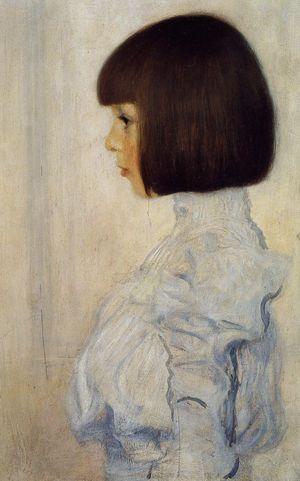 Klimt: Portrait of Helene Klimt, 1898