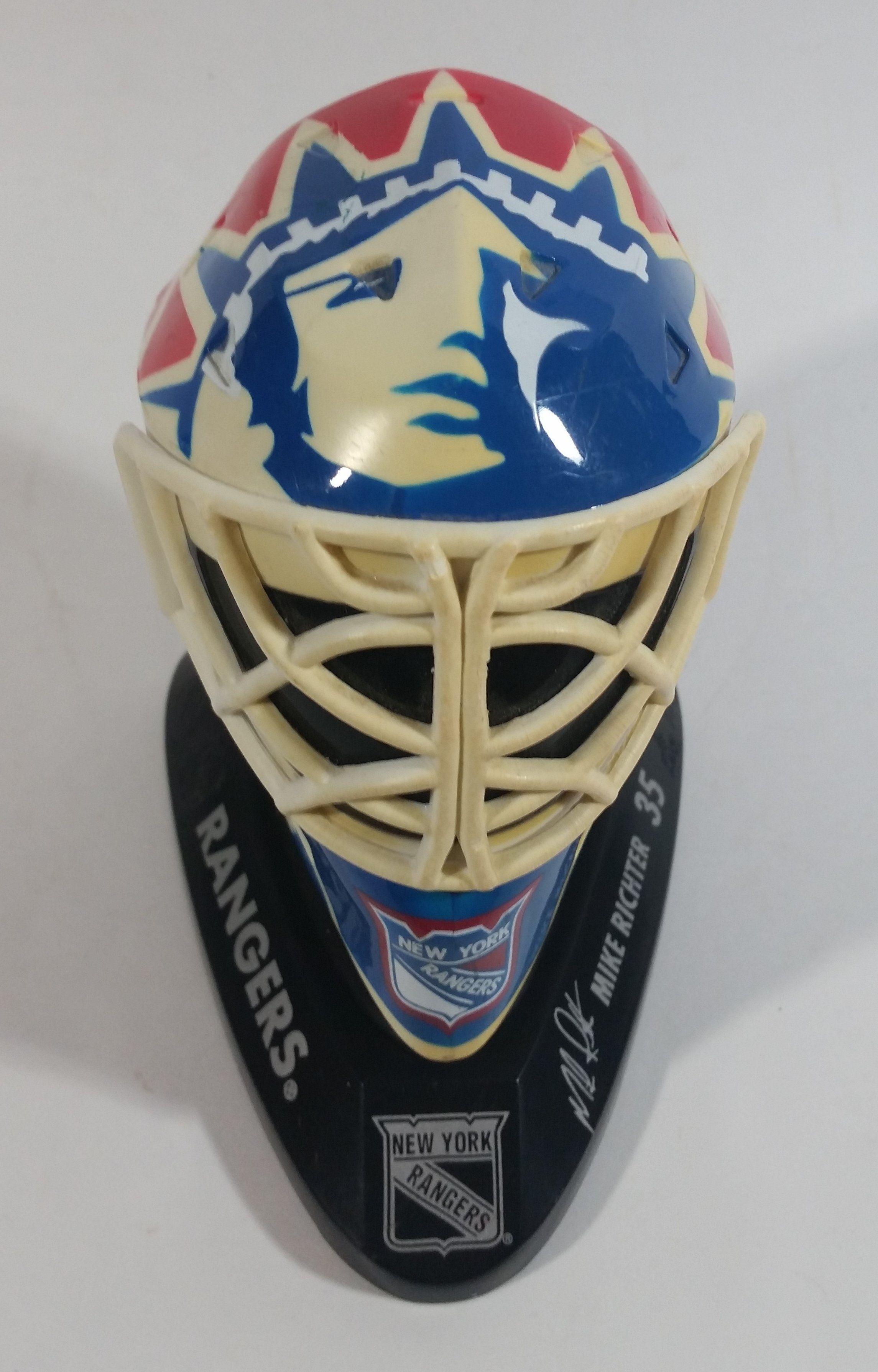 199697 McDonalds Mini Goalie Mask New York Rangers Mike