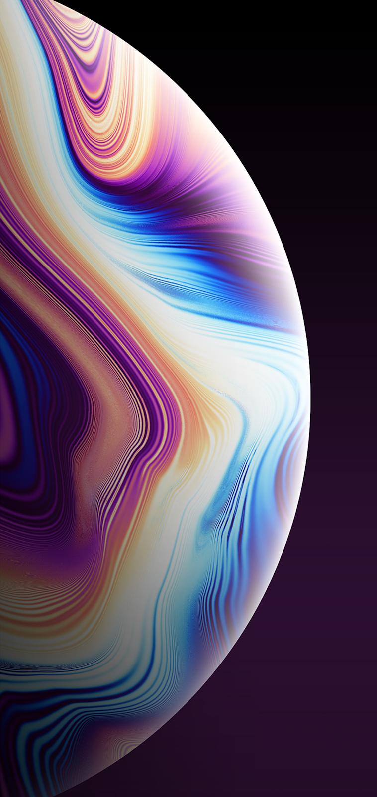 Colorful Bubble Iphone Wallpaper Ios Original Iphone Wallpaper Iphone Wallpaper Planets