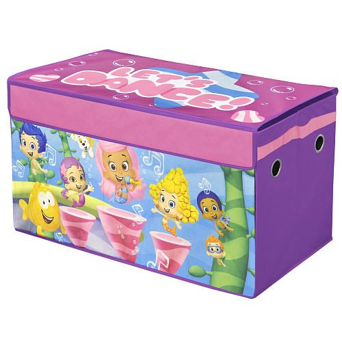 Charming Bubble Guppies Collapsible Toy Chest +20