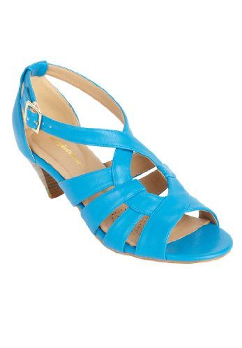 Comfortview Wide Keira Strappy Sandal (Vibrant Blue,10 M) Comfortview, To BUY or SEE just CLICK on AMAZON right here http://www.amazon.com/dp/B00HU72QTO/ref=cm_sw_r_pi_dp_mOGstb0ED3ZJ5228
