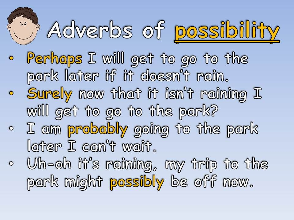 Year 5 Indicating Degrees Of Possibility Using Adverbs Complete Spag Vcop Lesson Interactive Lessons Adverbs Lesson
