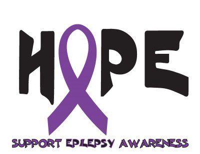 HOPE Epilepsy Ribbon #epilepsy #epilepsyawareness