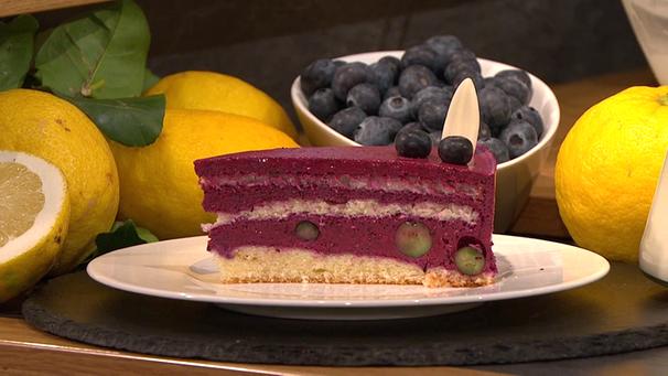 Wir In Bayern Heidelbeer Torte Kuchen Und Torten Lebensmittel Essen