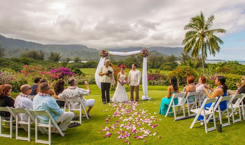 Hanalei Bay Resort is perfect for intimate weddings for ...