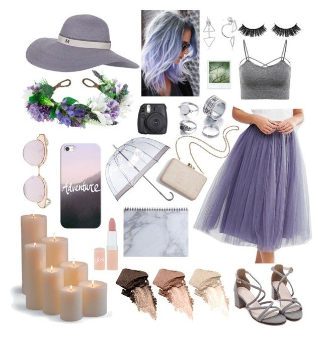 """""""Adventures at Dusk"""" by goldengraciegirl ❤ liked on Polyvore featuring Little Mistress, Kayu, Urban Decay, Frontgate, Rimmel, Rock 'N Rose, Fulton, Le Specs, Maison Michel and Polaroid"""