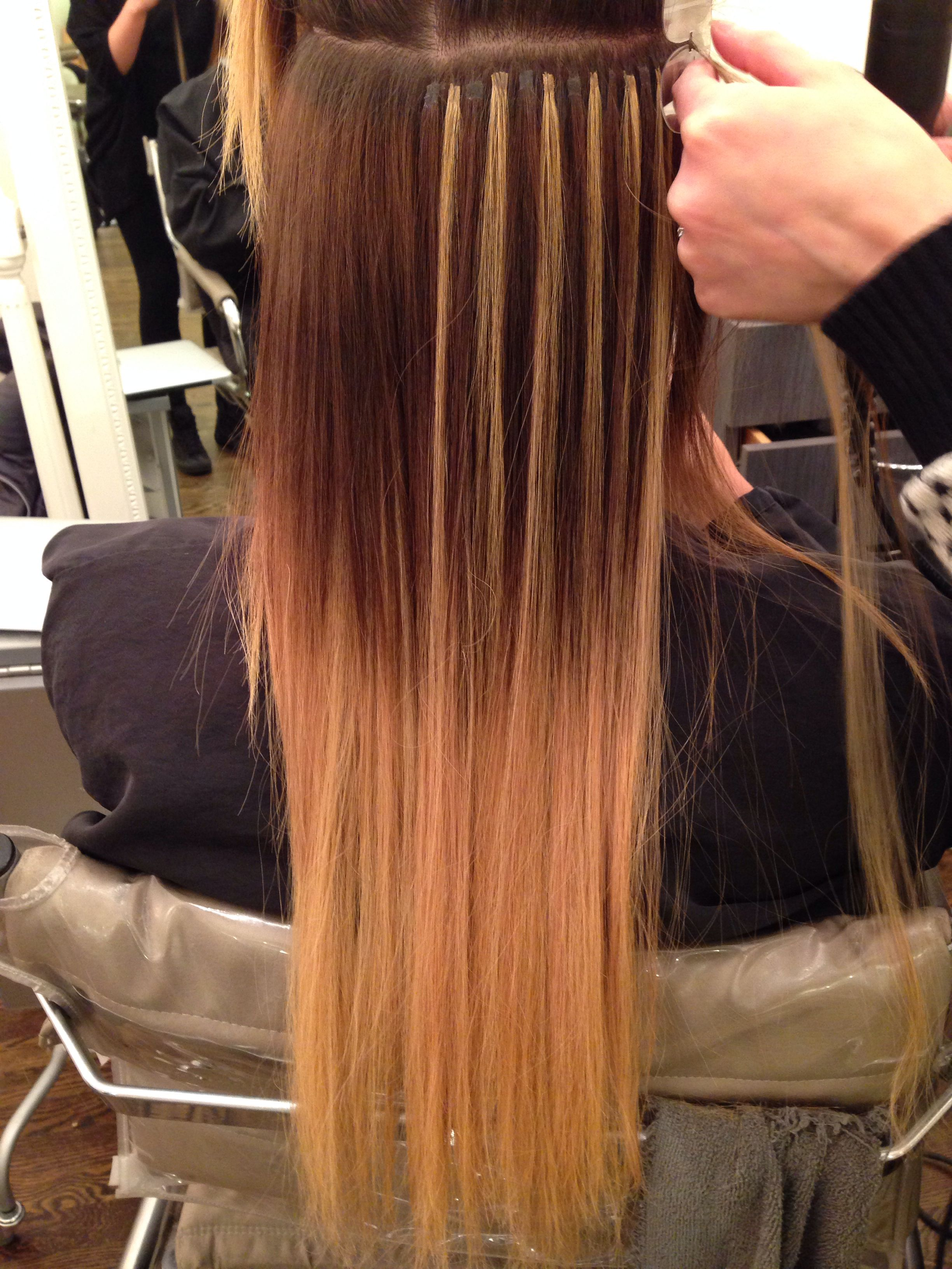 Cold Fusion Ombre Great Lengths Hair Extensions Tina Tobar Follow