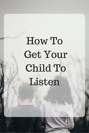 I often hear parents complain about the incapability of their children to follow the rules. First of all what we have to understand is that no one is perfect in their parenting skills and every child is different from the other. So, the best option is to tackle every child according to their behavior. Some of these tips might help you to get your child to listen.