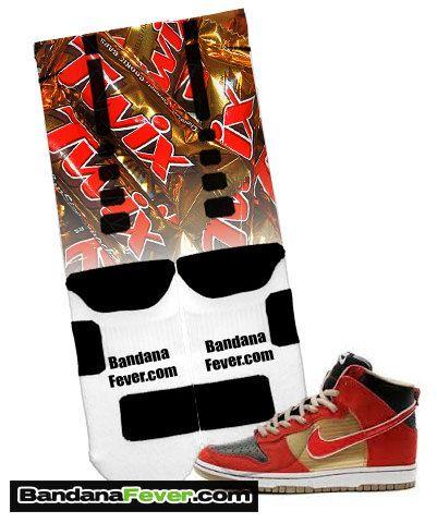 ebe42457ad12 Nike Elite Socks Twix FREE SHIPPING by by BandanaFeverDesigns ...