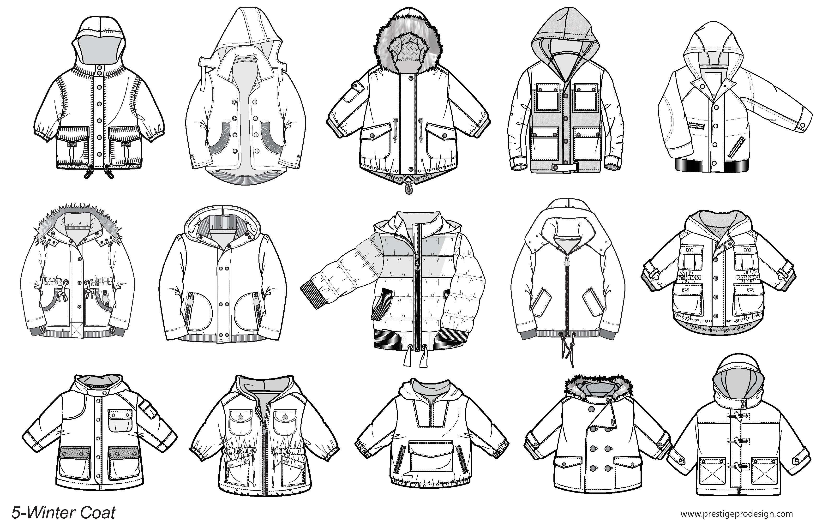 Illustrator Fashion Templates For Kids Eskiz Modeli Eskiz Vykrojki Detskoj Odezhdy