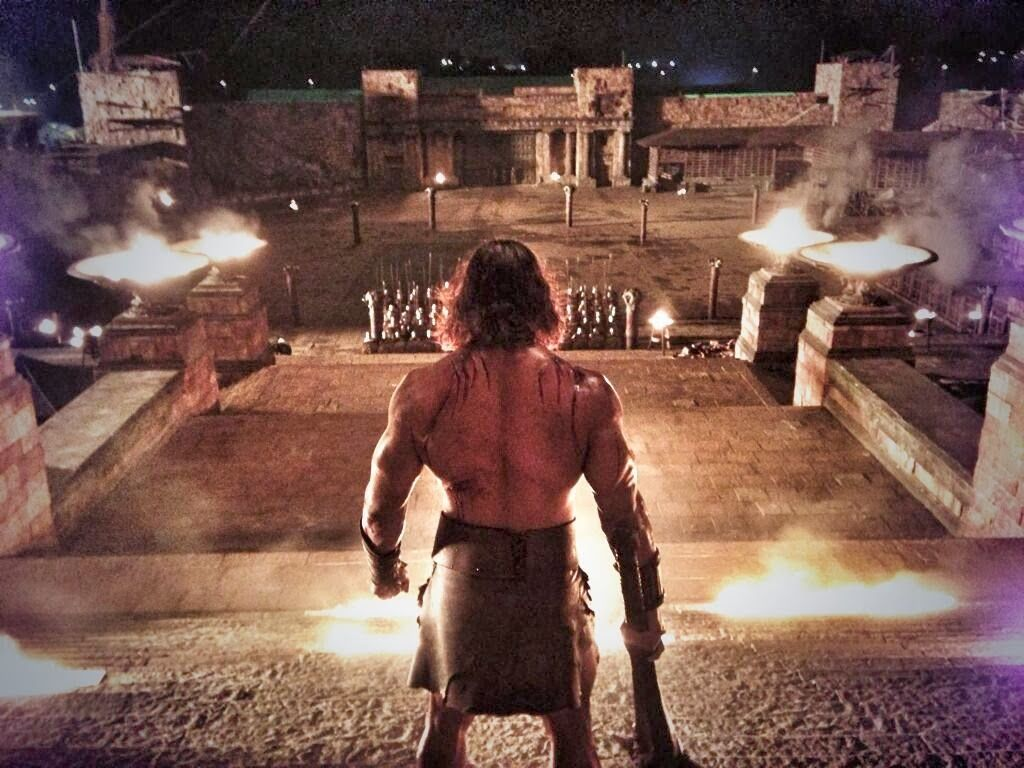 Dwayne Johnson Compartió Una Imagen Del Set De Hércules: The Thracian Wars | DiosCaficho.Com