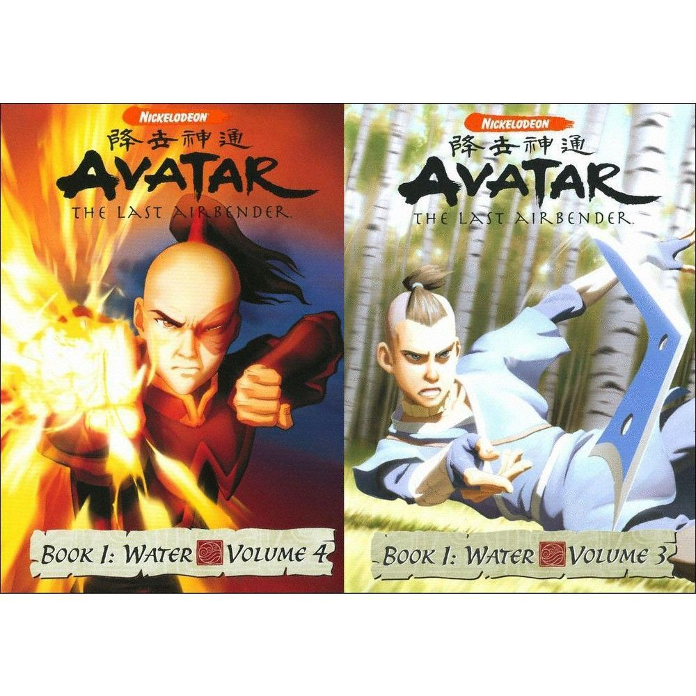 Avatar The Last Airbender Book 1 2 3 4