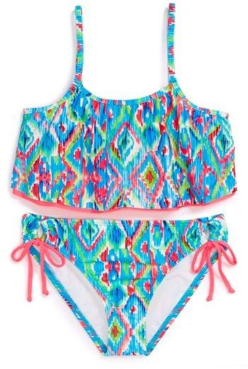 79ce2beb3c Ella+Moss+Two-Piece+Swimsuit+(Big+Girls)+on+shopstyle.com | Swimsuit ...