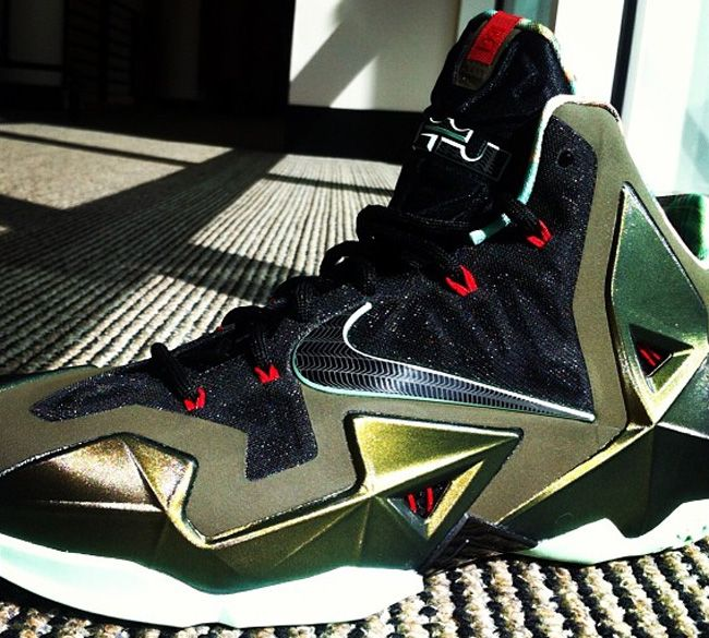 super popular 9982c e2398 Here is images via mavcarter of the Nike Lebron 11