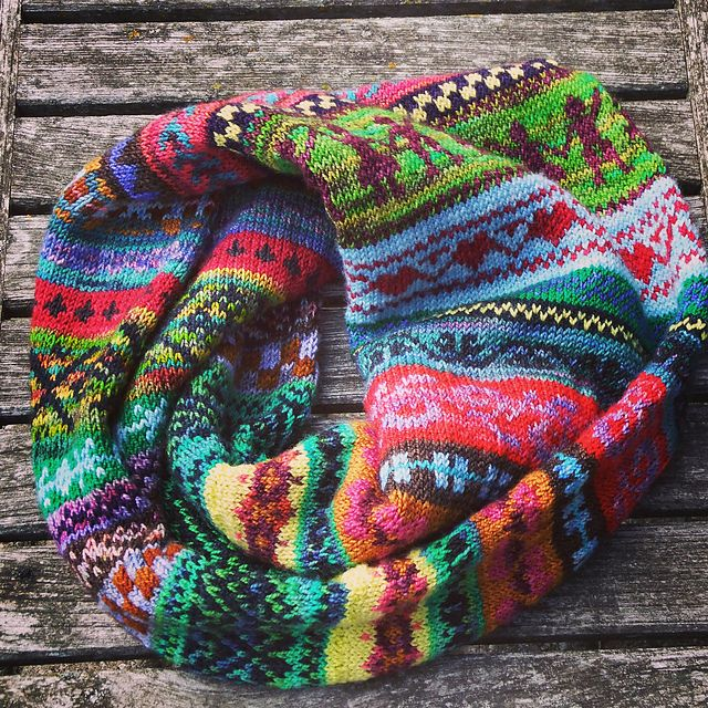 Ravelry: Koigu Fair Isle Cowl pattern by Susan Elliot Beatty ...