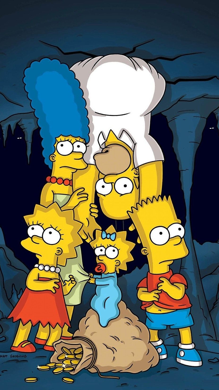 The Simpsons Phone Wallpaper | Moviemania