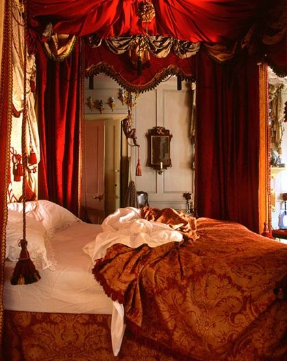 1000 images about Bedroom on Pinterest. Gold And Red Bedroom