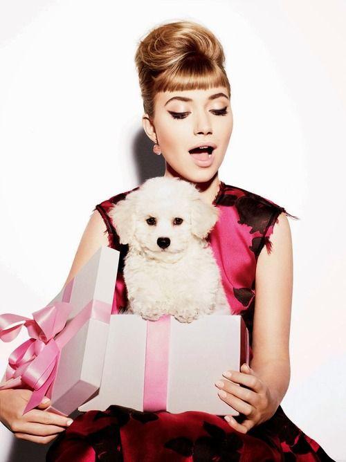 Imogen Poots for Vanity Fair, December 2013