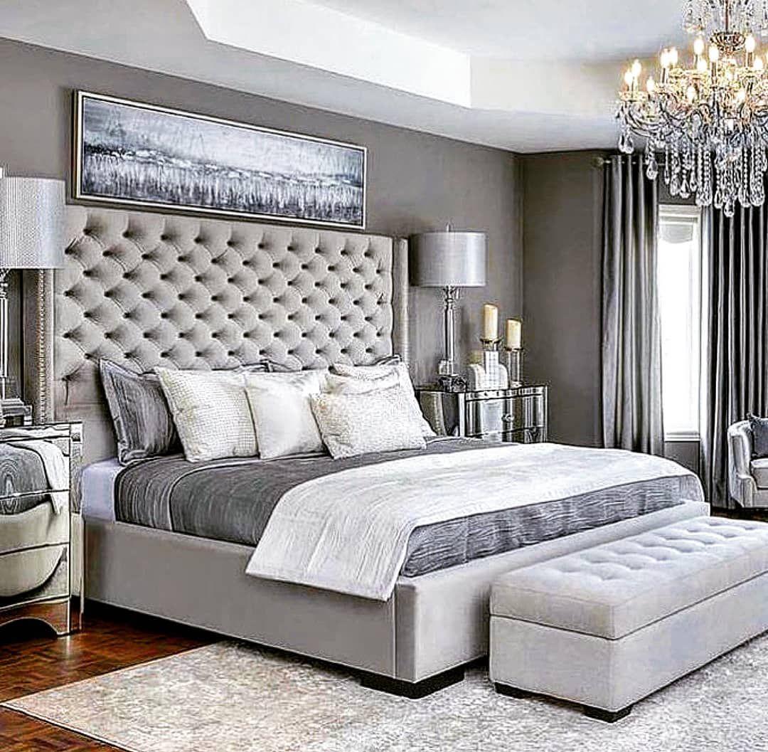Bedroom Goals Beds Bedrooms Headboards Grey Genderneutral