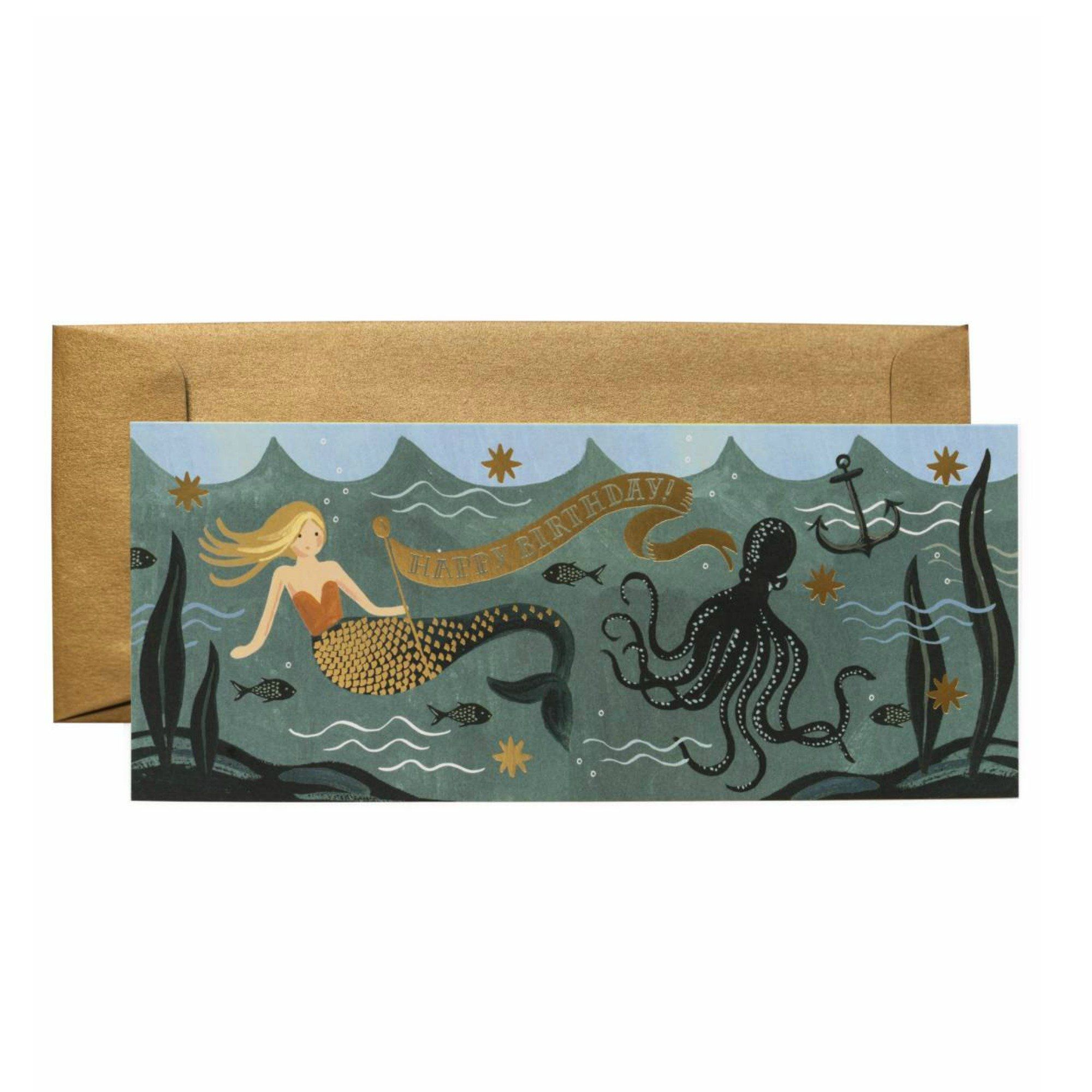 Under the sea birthday card products pinterest products
