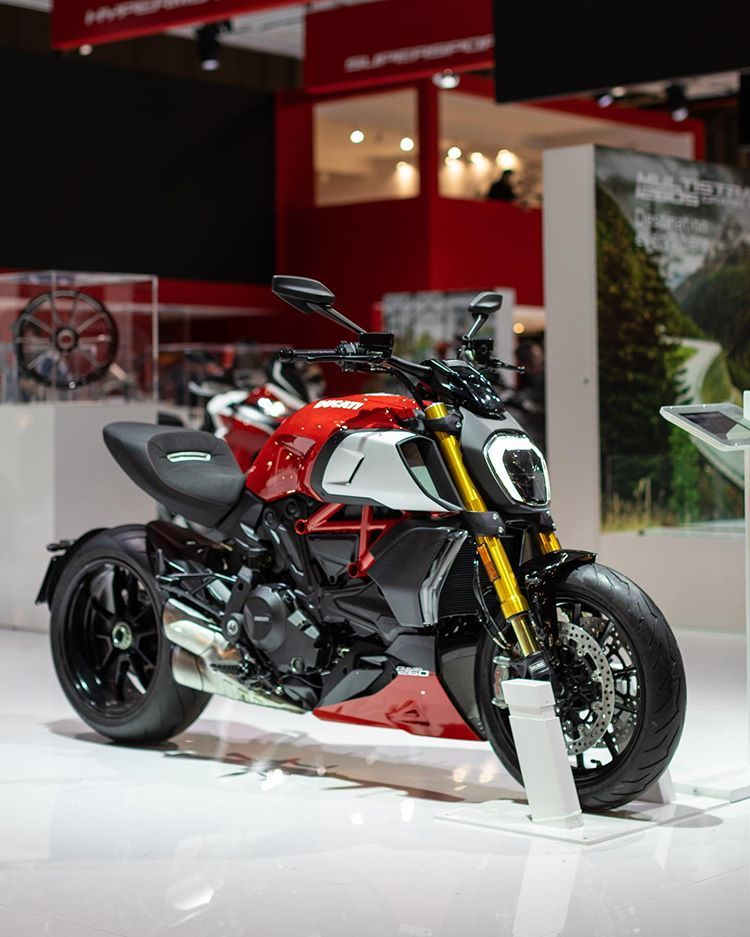 Ducati Motor Holding Sur Instagram Diavel 1260 So Good To Be Bad Discover It Eicma Hall 15 Stand N20 Ducati2020 Duc Ducati Diavel Ducati Ducati Motor