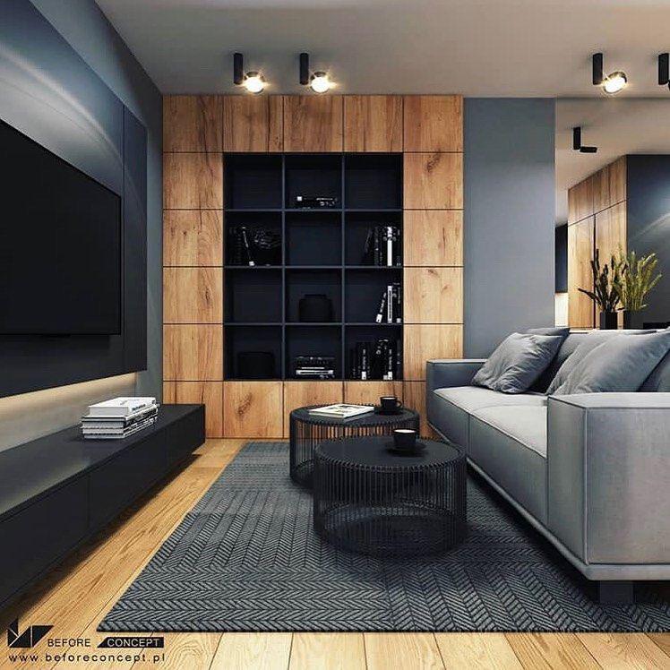 I Really Enjoy This Modern And Sleek Space Do You Appreciate The Colour Scheme Desig Decor Home Living Room Interior Design Modern Interior Design