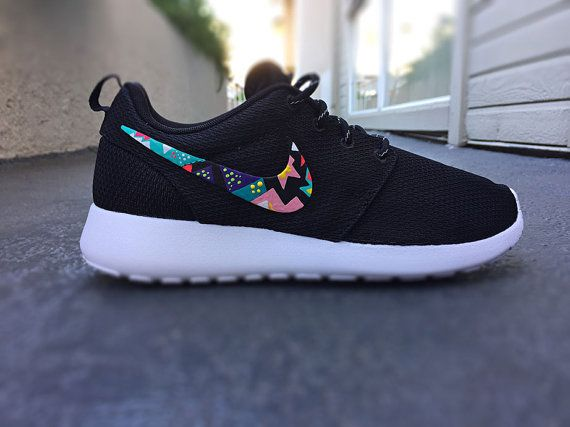 online store f32db 48863 Womens Custom Nike Roshe Run sneakersTeal and hot by CustomSneakz
