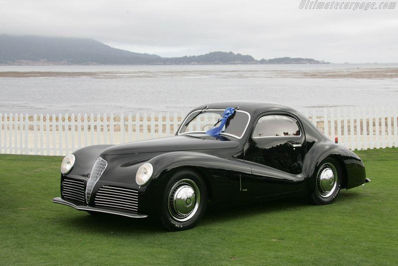 Alfa Romeo 6C 2500 SS Coupé Bertone 1942.