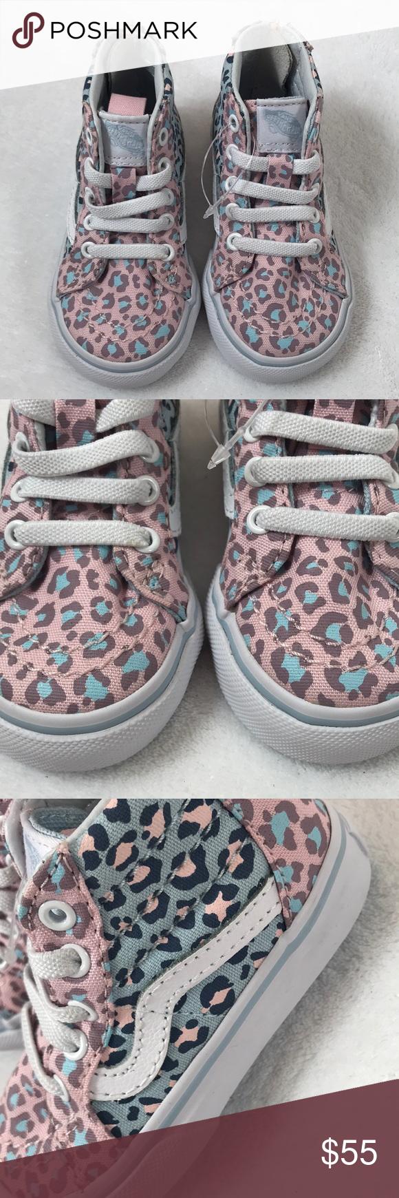 1389712bdaaf6c Vans SK8-Hi Zip Leopard Toddler baby shoes 5 Vans SK8-Hi Zip 2