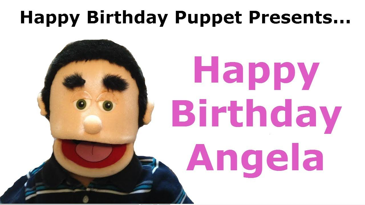 Funny Happy Birthday Angela Birthday Song With Images Funny