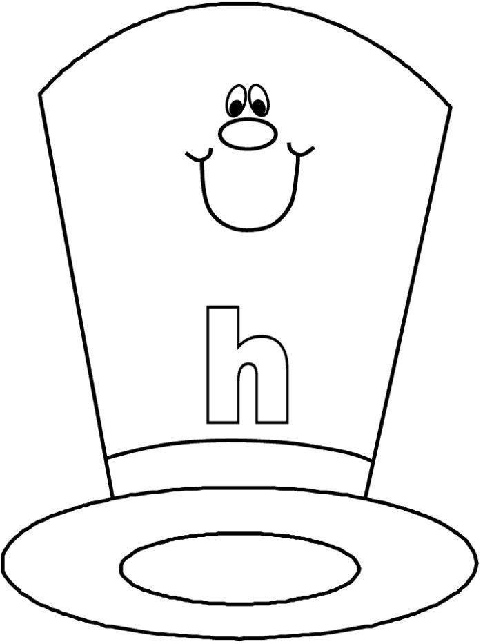 24 Hat Coloring Pages Free Printable For Kids Coloring Hats Coloring Pages