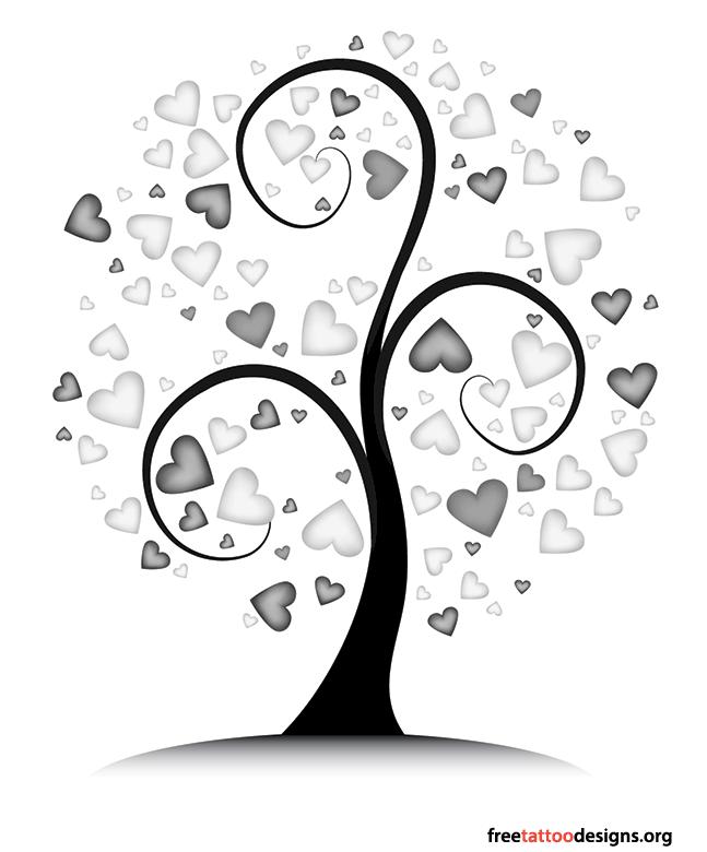 tree tattoo design